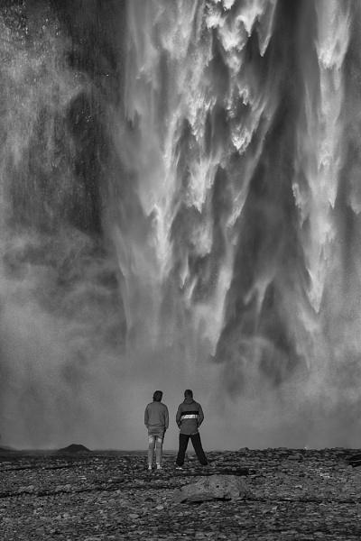 Skogafoss Watching by Alan_Coles