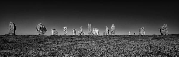 Callanish Stones mono by NeilSchofield