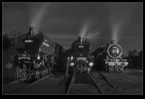 East Lancashire Railway night shoot by jaymark1