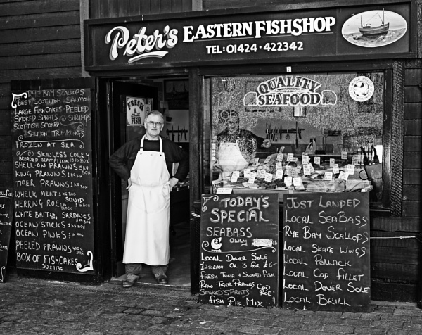 PETER\'S FISH SHOP by monobod