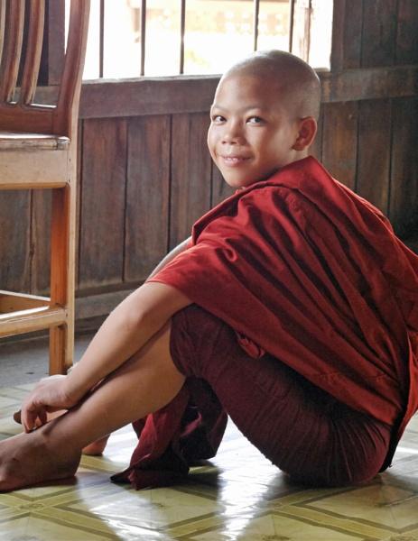 Burmese novice ... by chrisdunham