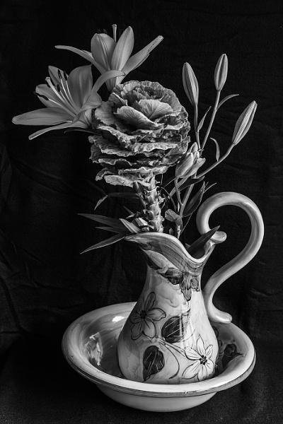 Flowers in Jug by canonfan
