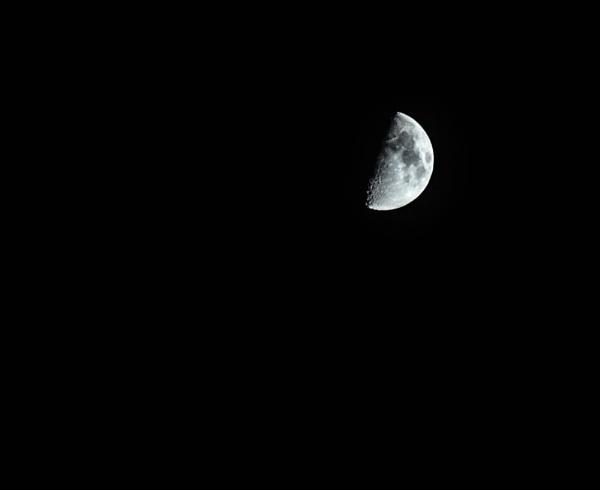 The moon on Halloween by jamesmoorephotography