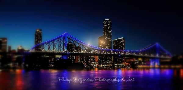 River Walk - Story Bridge, Brisbane, Queensland, Australia by phillipgordon