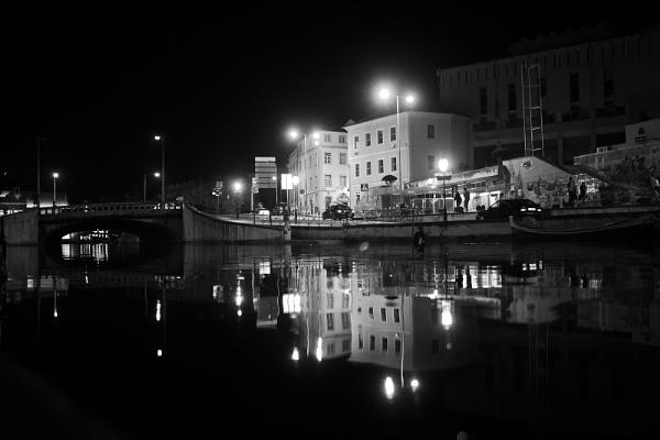 night Aveiro by serumeiro