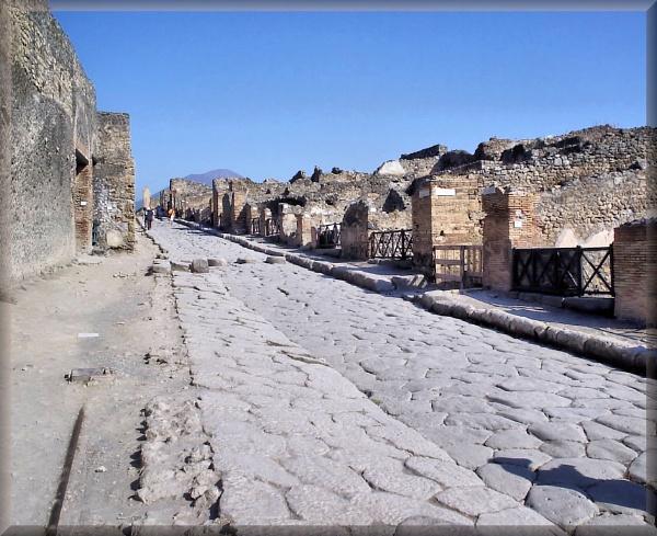 Street of Shops, Pompeii by alancharlton