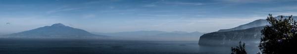 Mount Vesuvius Panoramic by DavidSiggers2014