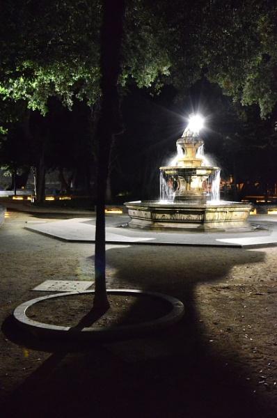 Fountain in Split 2 by millaross