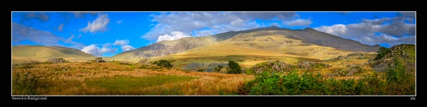 Snowdon Background by jer