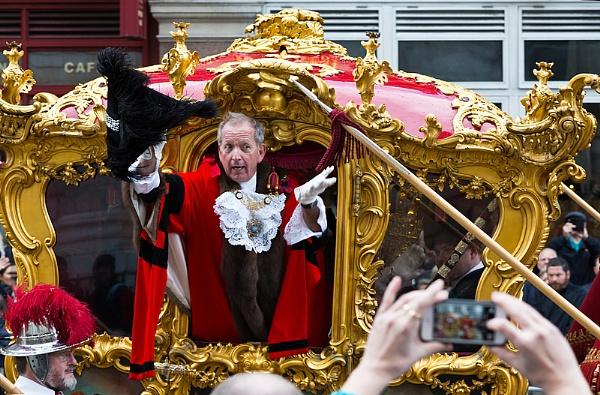 Lord Mayor of London by xwang