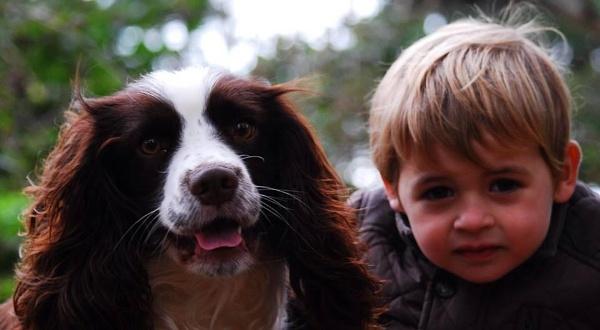 Lewis & Gem (Childs best friend) by sally_chick