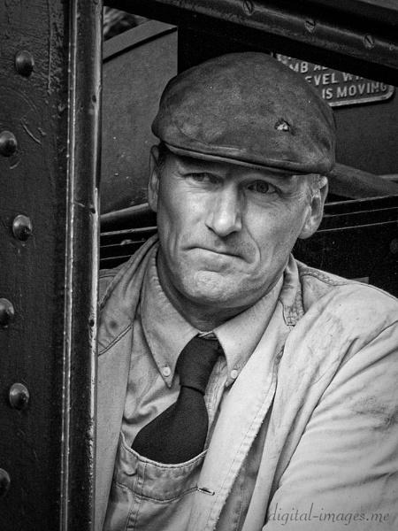 Railwayman III by Alan_Baseley