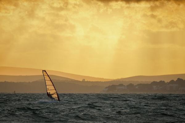 Windsurfing Gold by jasonrwl