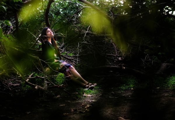 angel of forest by sarasij