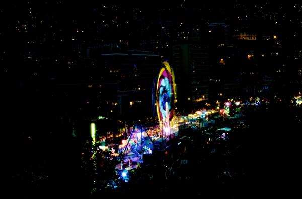 Night Fairground by Stoorie