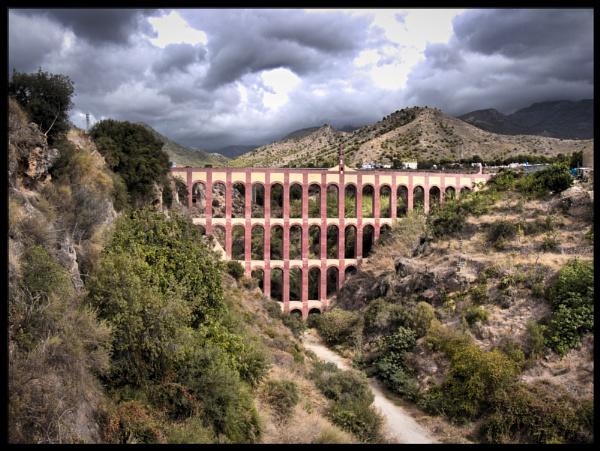 Bridge, Near Belamadena, Spain by buddiePhotographer
