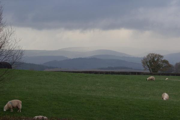 Brecon Landscape by karkley