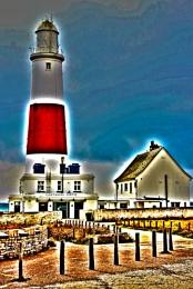 Portland Bill Lighthouse. Portland, Dorset.