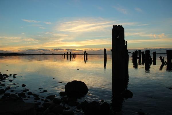 SUNSET, SOUTH WALNEY by CarolAnnLauderdale
