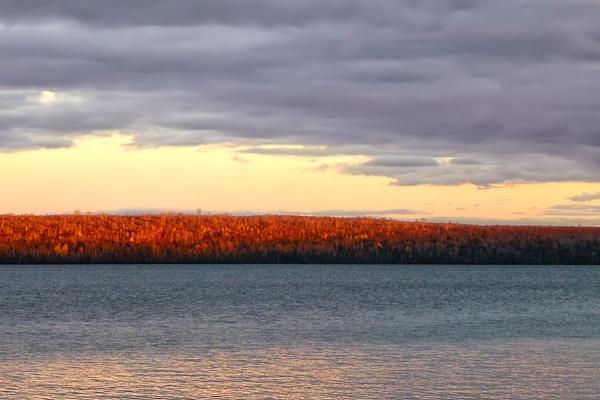 Evening Glow, Schoodic by Joline
