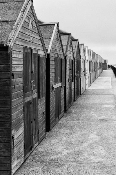 Beach Huts by Peteward