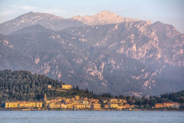 Dusk over Bellagio by TrevBatWCC