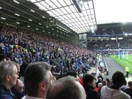 Park Stand - Goodison Park - Everton vs Swansea City 01/11/14