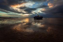 Thorpe Bay at Low Tide