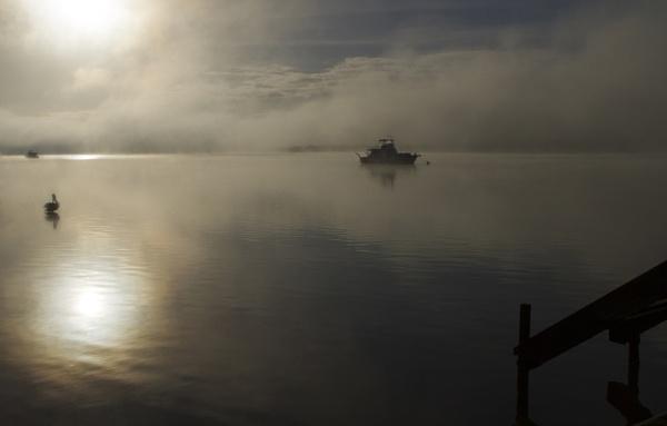 Misty Waters by lesliea