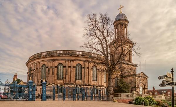 St Chads Church, Shrewsbury by trihelm