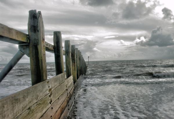 Winter Tide-Dawlish Warren by Hamlin