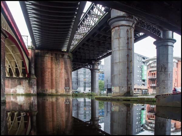 Beneath Three Bridges by bwlchmawr