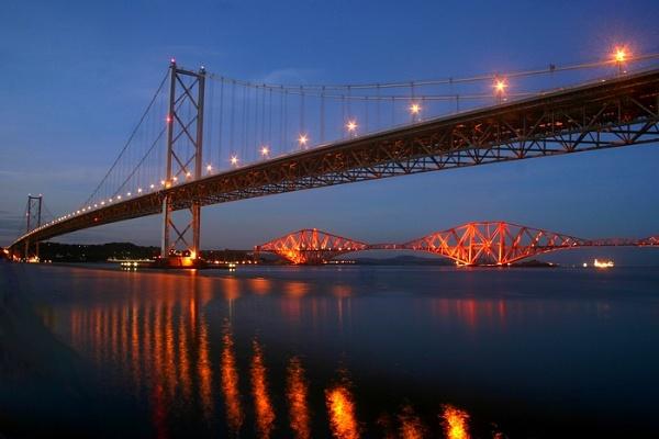 The Forth Bridges by Eckyboy