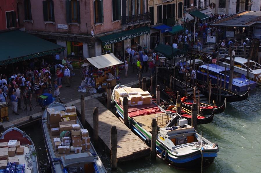 Bustling Venice