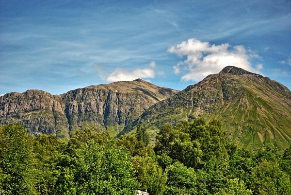 Mountains, Highlands, Scotland by ggdorrian