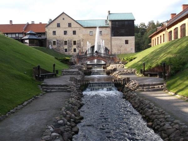 Waterfalls in Belmontas by kazeva