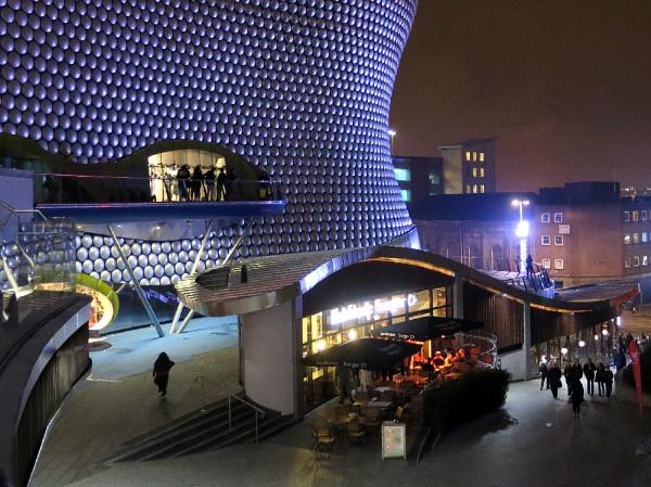 Birmingham night by Robal