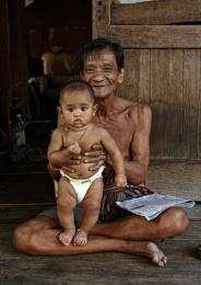 Grandfather & Child