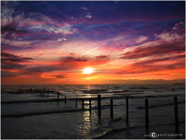 Weston Super Sunset by NDODS