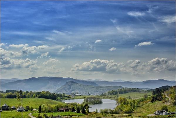Strathpeffer\'s Loch Kinellan by malcsf