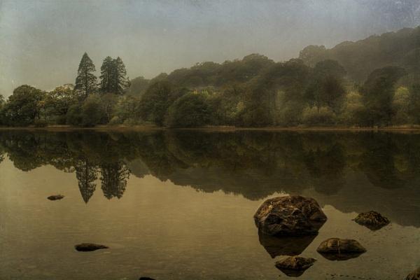 Morning Lake by WeeGeordieLass