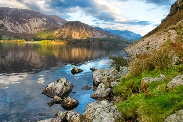 Ennerdale Water, Autumn Shades by stevew10000