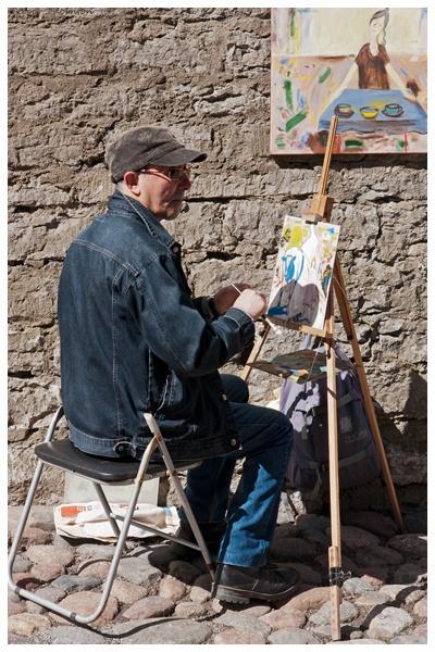 Street artist, Tallin by TT999