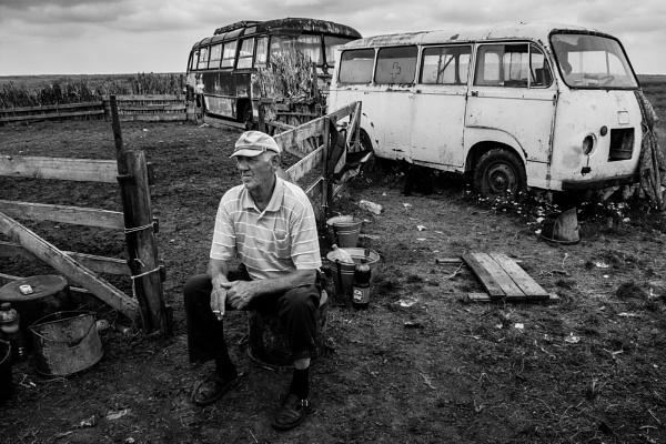 Man from Mokrin by GoranStamenkovic