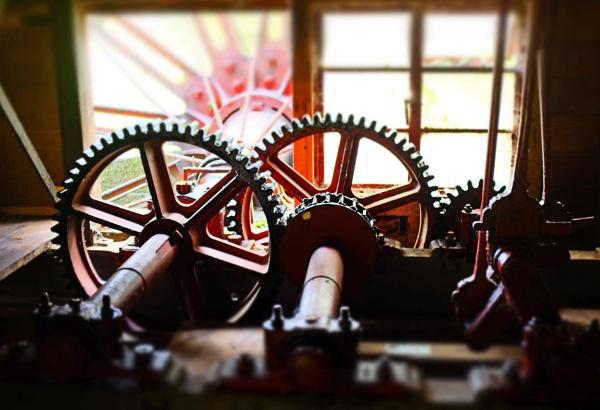 Waterwheel by Earthwatcher