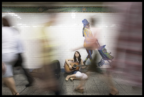 Subway - nyc by paolocardone