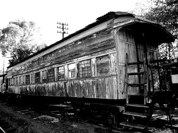 viejo vagon de madera by mtorighelli