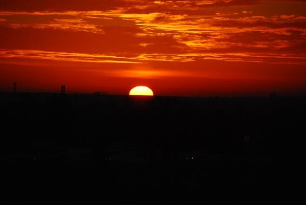 Sunrise Paban, France