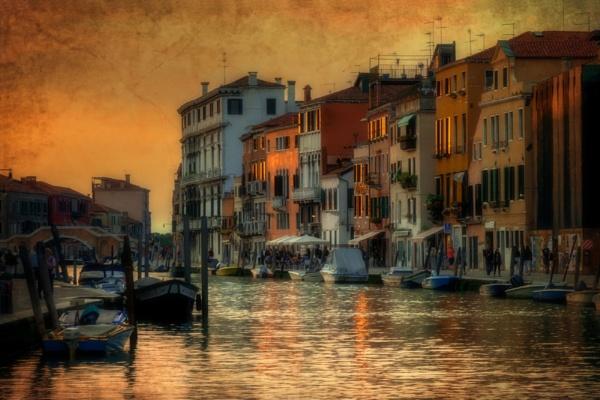 Venice Sunset by fargon