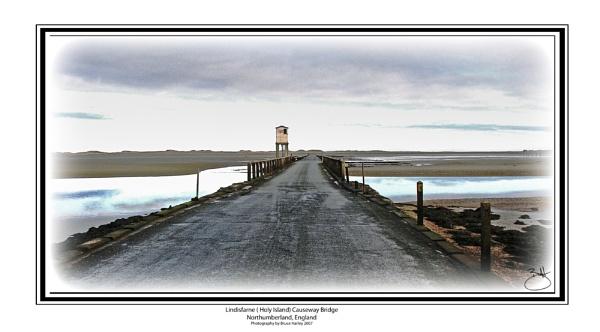 Lindisfarne (Holy Island)  Causeway Bridge by MunroWalker